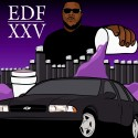 EDF - XXV mixtape cover art
