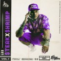 Le$ - Steak X Shrimp Vol. 1 (Chopped Not Slopped) mixtape cover art