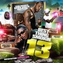 Best Thing Smokin 13 mixtape cover art