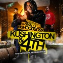 Big Hoodboss - Kushington & 4th mixtape cover art
