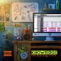 Knowledge - The Blazing Truth mixtape cover art