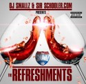 SirSchooler - The Refreshments mixtape cover art