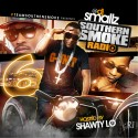 Southern Smoke Radio 6 (Hosted By Shawty Lo) mixtape cover art
