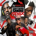 Southern Smoke Remix mixtape cover art