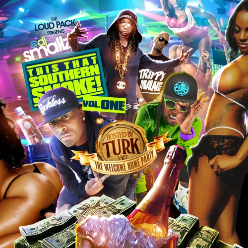 DJ Smallz – This That Southern Smoke (Hosted By Turk) [Mixtape]
