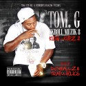 Tom. G - Skroll Muzik 8 (Kush-N-Kupz 2) mixtape cover art