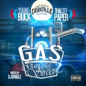 Young Buck & Tha City Paper - G.A.S. 2 mixtape cover art