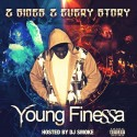 Young Finessa - 2 Sides 2 Every Story mixtape cover art