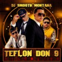 Teflon Don 9 Reggaeton mixtape cover art