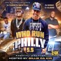 Who Run Philly 5.5 mixtape cover art