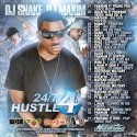 24/7 Hustle. Part 4 mixtape cover art