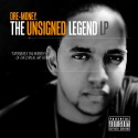 Dre Money - The Unsigned Legend LP mixtape cover art