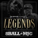 DMS Legends Series (Hosted By 8Ball & MJG) mixtape cover art