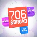706 & Broad mixtape cover art