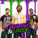 No Time To Waste Ent. - Purple & Green mixtape cover art