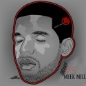 Drake Vs. Meek Mill mixtape cover art