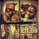 Glocks & Kilos 14.5 mixtape cover art