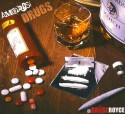 AmBrosi - #DRUGS! mixtape cover art