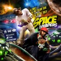 Space Invaders mixtape cover art