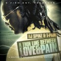T-Pain - A Thin Line Between Love & Pain mixtape cover art