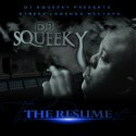 DJ Squeeky - The Resume mixtape cover art