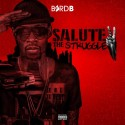 Byrd B - Salute To The Struggle mixtape cover art