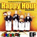 Darkskin & Mossberg - Happy Hour mixtape cover art
