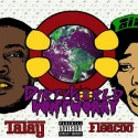 Fleacoo & Talay - Dirty World Don't Worry mixtape cover art