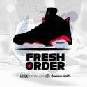 Fresh Order 6 mixtape cover art