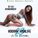 Hookah Highlife 23 (Hosted By Damar Jackson) mixtape cover art