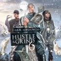 Hustle & Grind 6 mixtape cover art