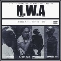 N.W.A mixtape cover art