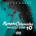 Nympho Chronicles 10 mixtape cover art