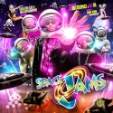Space Jams mixtape cover art