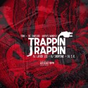 Trappin & Rappin mixtape cover art
