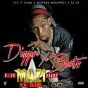 Yung Mazi - Diggin' Yo Beats mixtape cover art