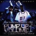 Pump Up The Volume 1 mixtape cover art