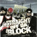 Southern Style DJ's: Straight Off Da Block mixtape cover art