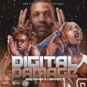 Digital Damage mixtape cover art