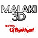 Malaki3D - Malaki3D (Hosted By Lil Bankhead) mixtape cover art