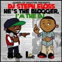 He's The Blogger, I'm the DJ mixtape cover art