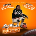 Young Shank - Jim Brown mixtape cover art