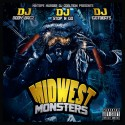 Midwest Monsters mixtape cover art