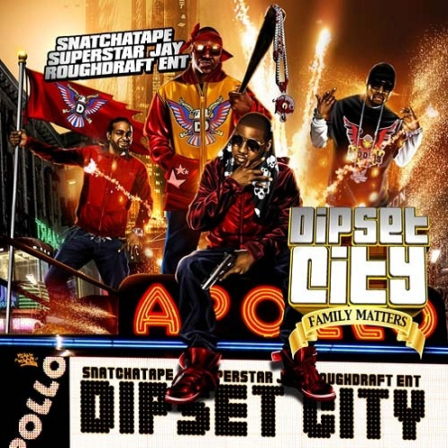 Superstar Jay, Snatchatape – Dipset City Mixtape