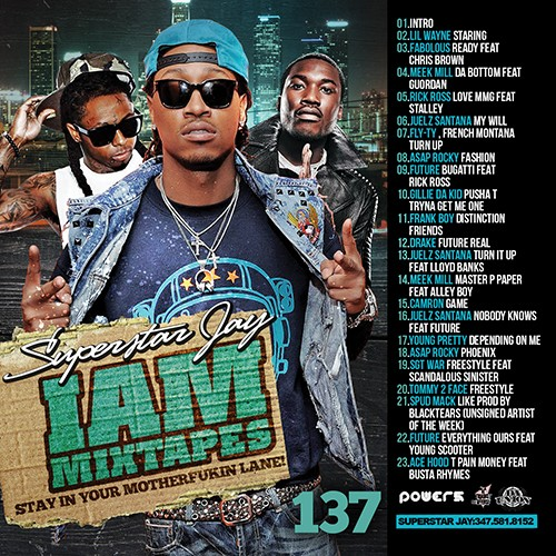 Superstar Jay › I Am Mixtapes 137 (New Rap - Hiphop Music, Stream or Download Free)