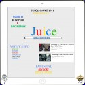 Juice Gang - J.U.I.C.E. mixtape cover art