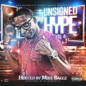 Unsigned Hype 4 (Hosted By Mike Baggz) mixtape cover art