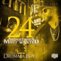 Industries Most Wanted 24 mixtape cover art