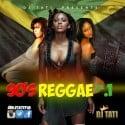 90's Reggae mixtape cover art