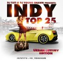 Indy Top 25 mixtape cover art